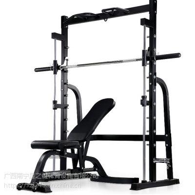 史密斯机深蹲架多功能卧推架举重床龙门架家用运动健身器材