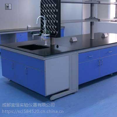 四川化验室、实验台厂家 钢木边台、中央台定做