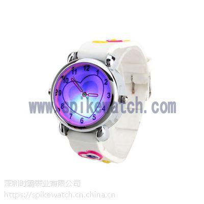 手表工厂供应SPIKE新款发光闪灯儿童卡通手表
