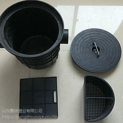 供应山东鹏州小型沉渣隔油井315*110 塑料平流式沉淀池