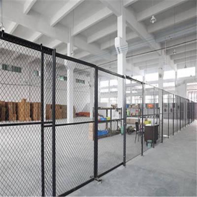 厂家定做车间隔离网定做上饶仓库隔断铁丝网工厂黄色隔离护栏网