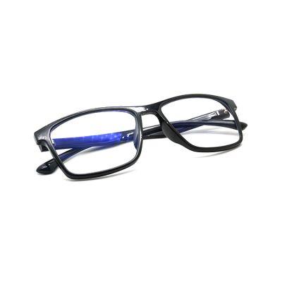 负氧离子能量防辐射眼镜 TR90男款防蓝光眼镜生产厂家