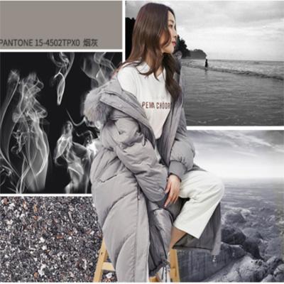 韩版羽绒服大版外套欧美品牌女装气质时尚中长款加厚广州女装批发市场