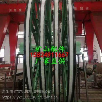 山西2.8米矿用提升机天轮衬垫 聚氨酯衬块 导向轮衬垫厂家