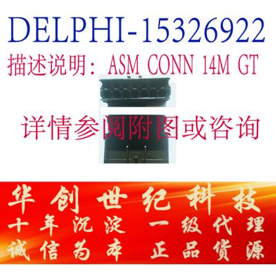 广州供应德尔福连接器 端子 14芯公制接插头15326922 原厂正品 假一罚十