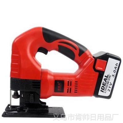 安捷顺锂电曲线锯 多功能木工电锯家用拉花锯手工锯线锯木工工具