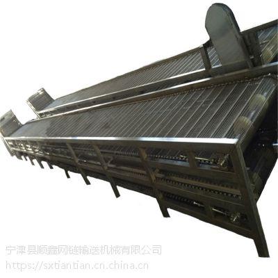 清洗钢丝网带输送机@茂名工件清洗钢丝网带输送机厂家