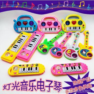 儿童卡通音乐琴 电子吉他琴系列 婴幼儿早教益智创意玩具厂家热卖