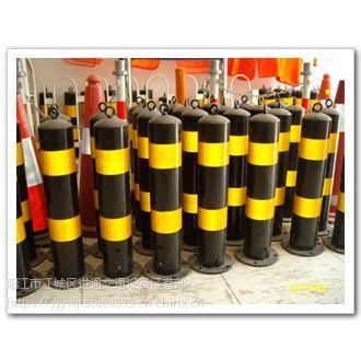阳春道路交通警示柱厂家 PVC橡胶防撞柱批发