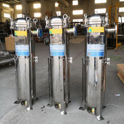供应2号不锈钢袋式过滤器 袋式过滤机