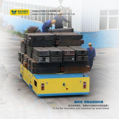 搬运销售6T蓄电池轨道平板车 电动轨道车地轨车车间电动转运车