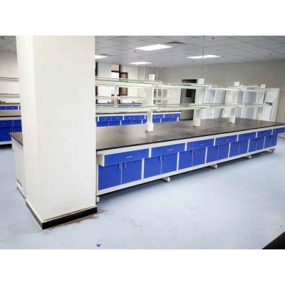 供应钢木中央实验台 北京实验室实验台厂家