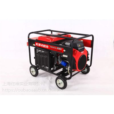 250A汽油发电电焊机日本发动机