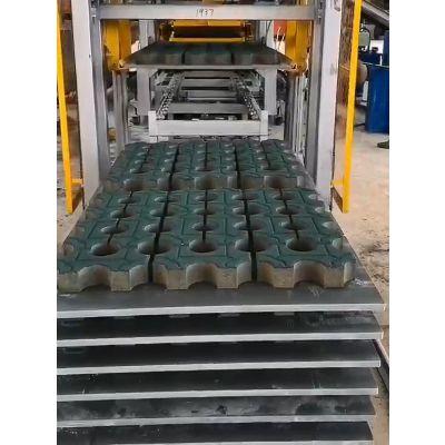 群工QT8-13型免烧砖机械设备价格 群工的砖机