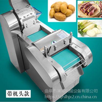 全自动蔬菜切菜机 新型多功能切菜器厂家