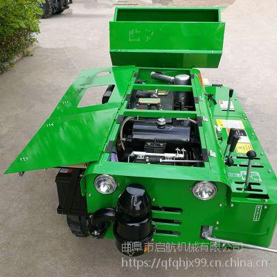 高低棚履带开沟机 柴油履带式开沟机保养常识说明书 启航松土机价格