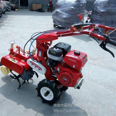 农用大棚开沟培土机 优质柴油培土机 富民牌