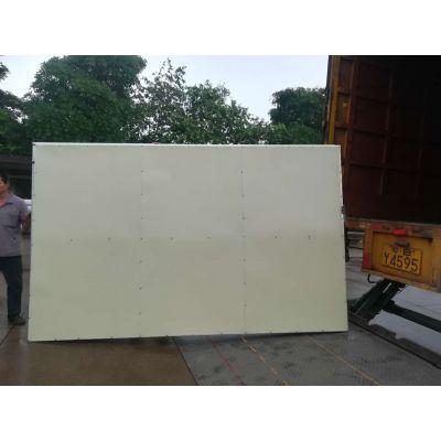 平面彩钢扣板围挡 按需订制框架式铁皮施工隔离围墙 建筑工地安全围挡