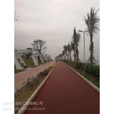 河南彩色路面-JD商丘市无砂混凝土增强剂厂家