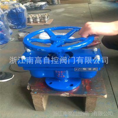 供应铸铁 QB2 双口排气阀 常压法兰自动进气阀