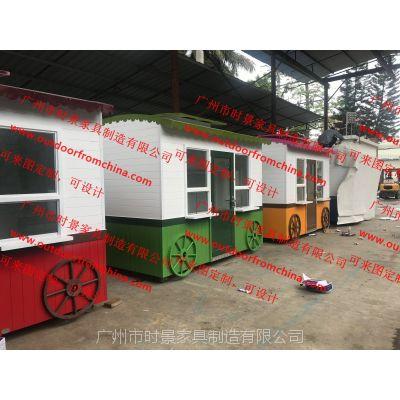 怀化移动玻璃钢售货车 临高移动售卖亭 泰州装饰售货车图片价格