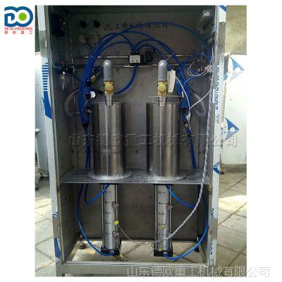 半自动灌装机 蜂蜜膏体压力罐装设备 计量精确 小型酒厂灌酒机