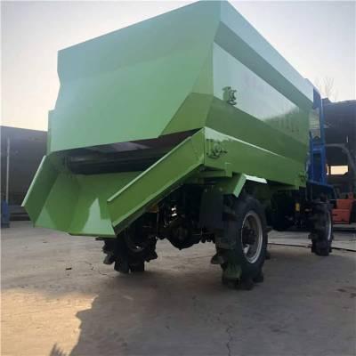 大马力柴油撒料机 润丰供应各种容量柴油撒料车机 接收定做