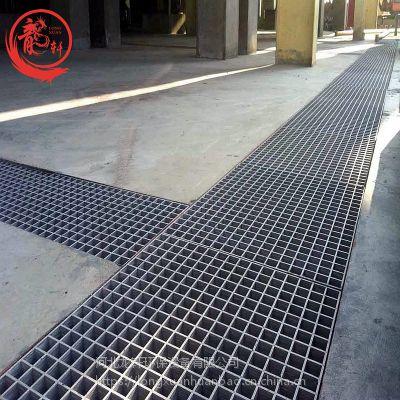 38灰色玻璃钢格栅地沟盖板 网格排水板生产厂家——河北龙轩