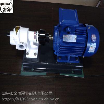 河北金海JHCB-3高温齿轮泵合金齿耐磨泵新品首发