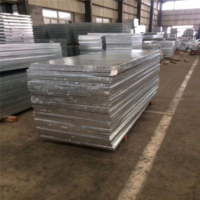 互插钢格板厂 船厂专用穿孔钢格板 高分子水沟盖板