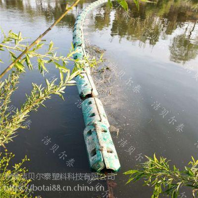 水上飘浮物拦污埂浮筒式拦污漂生产批发