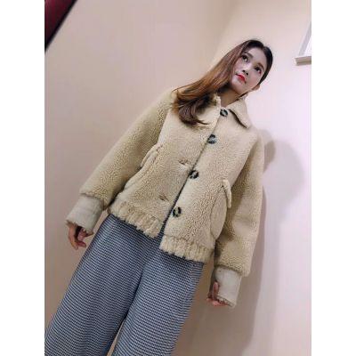 广州原创品牌 N7颗粒绒100%羊毛 白马十三行沙河服饰批发市场