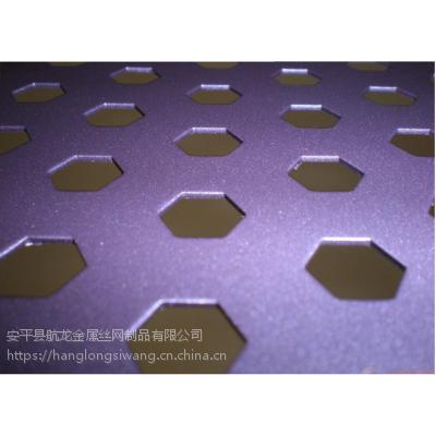广西防城港冲孔金属板 车间围挡冲孔网规格 河北涂塑冲孔板厂家