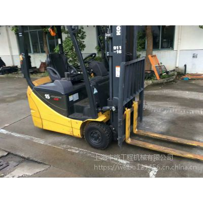 出售仓库小松进口电动叉车,日本小松二手电动叉车转让 前移式叉车