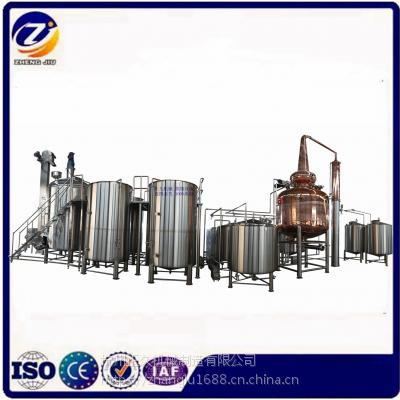 威士忌酿造生产线 蒸馏设备 波本威士忌蒸馏器