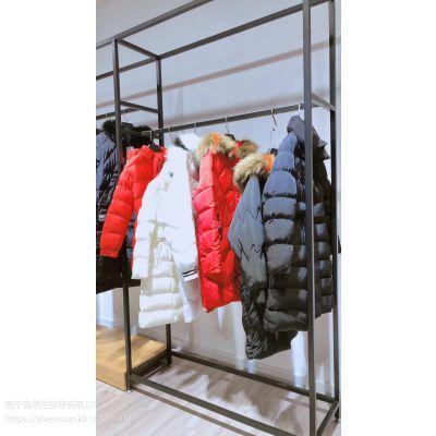 2018新款高端羽绒服 棉服 带大毛领 品牌折扣女装一手货源专柜正品批发