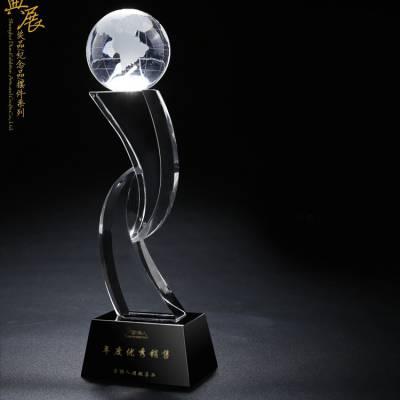 沈阳定做茶博会奖牌 铁观音茶叶展会奖牌 水晶爱心奖杯样式