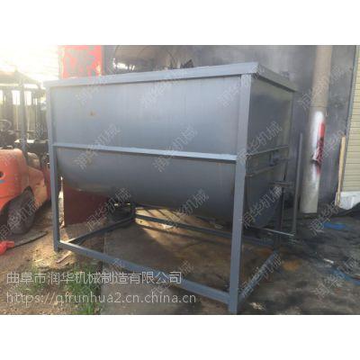 大容量绞龙式搅拌机 自动上料搅拌机 天津猪饲料拌料机