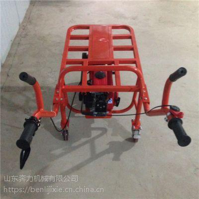 能爬陡坡的独轮车型号 7.5大马力农业运输机械 奔力DL-1