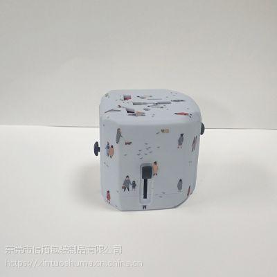 信拓多功能转换插头充电器水贴加工 来图个性化订制水转印加工