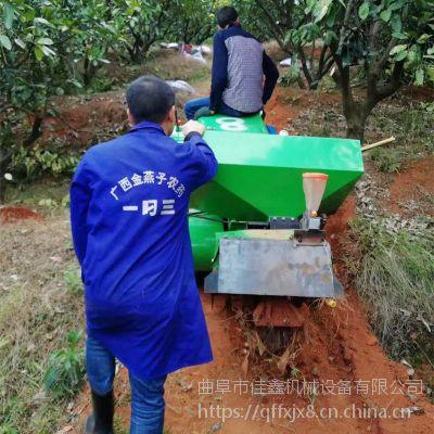 佳鑫履带式松土机 自走式田园管理机 小型旋耕回填机视频