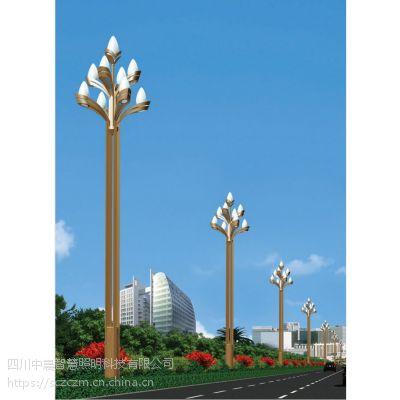 四川玉兰灯生产厂家丶12m八叉九火玉兰灯丶15m滴水玉兰灯