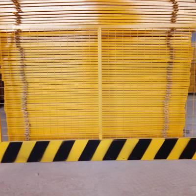 东莞工地临边防护网 中山建筑施工隔离围栏 安全警示基坑护栏价格