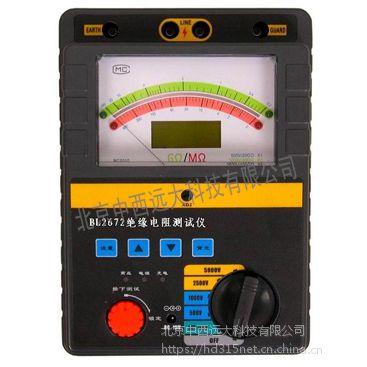 中西 绝缘电阻测试仪 型号:WHB5-BL2672库号:M387755