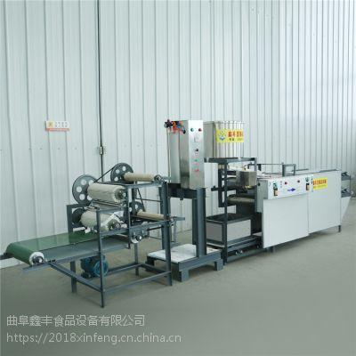 数控豆腐皮机全自动豆腐皮机鑫丰制造豆制品设备