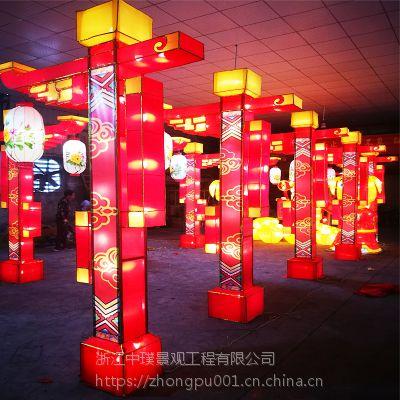 大型节日花灯生产厂家元宵节灯会彩灯设计制作公司