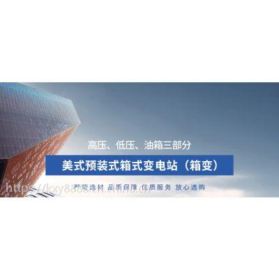 YB(W)-10/0.4美式10KV箱式变电站生产厂家