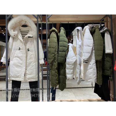 杭州一线高端品牌欧姿蔻羽绒服折扣女装批发货源