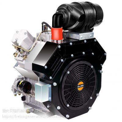 22马力双缸风冷柴油机2V92双缸风冷柴油机
