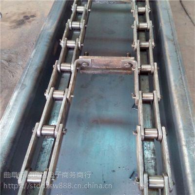 新疆 陶瓷粉末刮板输送机 矿粉FU链式埋刮板机价格